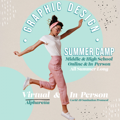 Graphic Design Camp For Students!